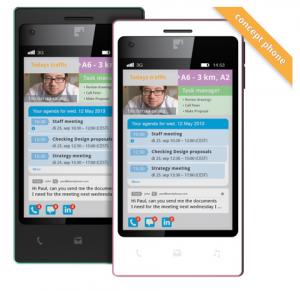 FairPhone's concept rendering of their fair trade phone