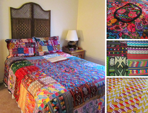 Quilt from Fair Trade Quilts and Crafts