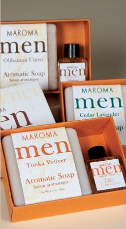Men's Soap & Fragrance Gift Set
