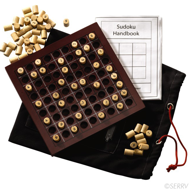 Sudoku Wooden Peg Board