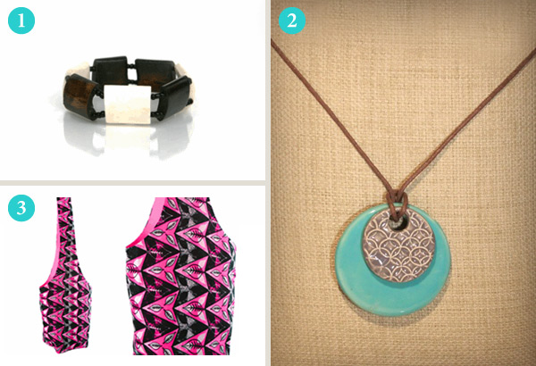 Tribal items from Bridge for Africa