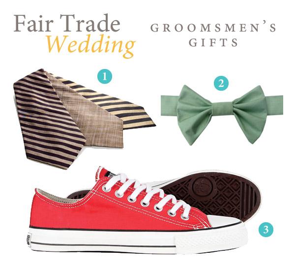 Fair Trade Groomsmen's Gifts