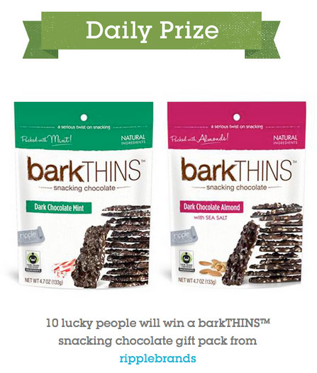 barkTHINS daily prize