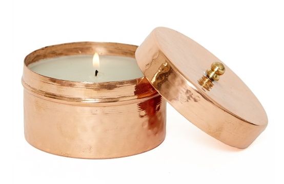 Copper Candle from the Little Market