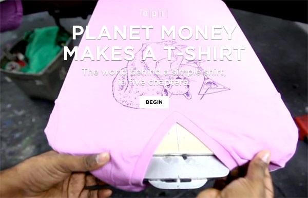 NPR's Planet Money Makes a T-Shirt