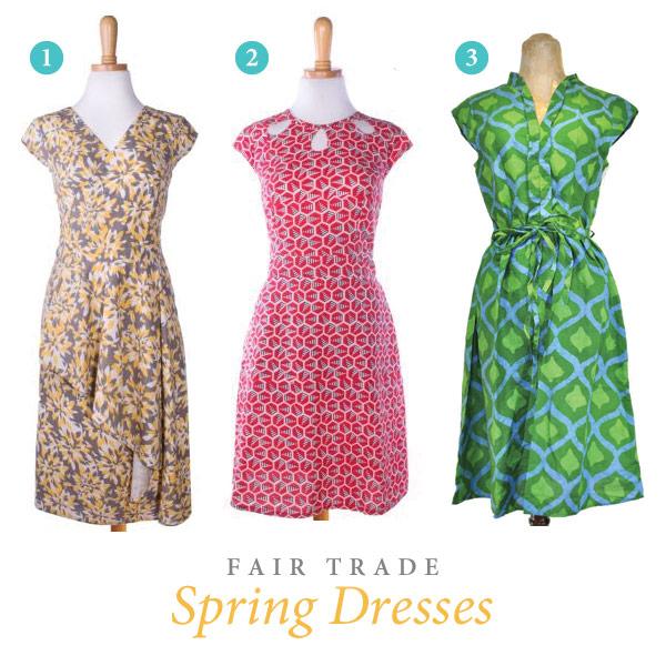 Fair Trade Spring Dresses