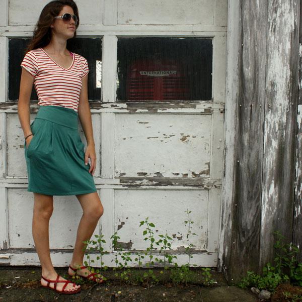 Chinna skirt from Liz Alig