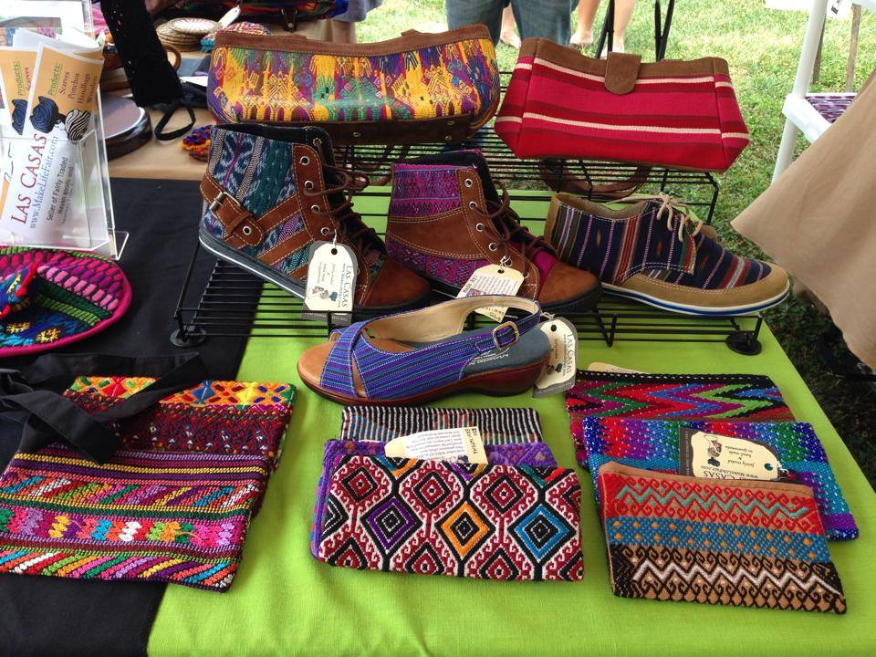 Las Casas table at the Manthan International Market