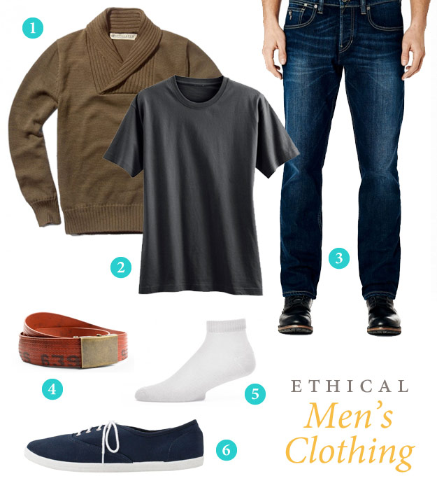 Ethical Men's Clothing casual clothing