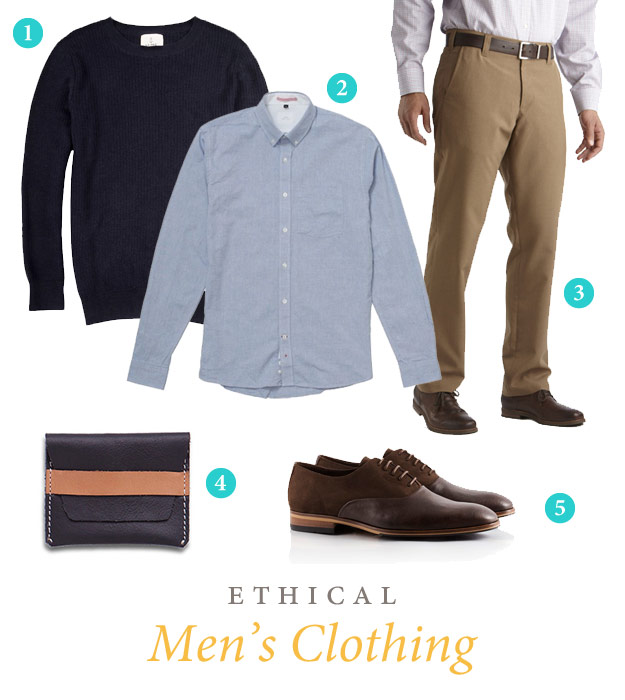 Ethical Men's Clothing dress clothes