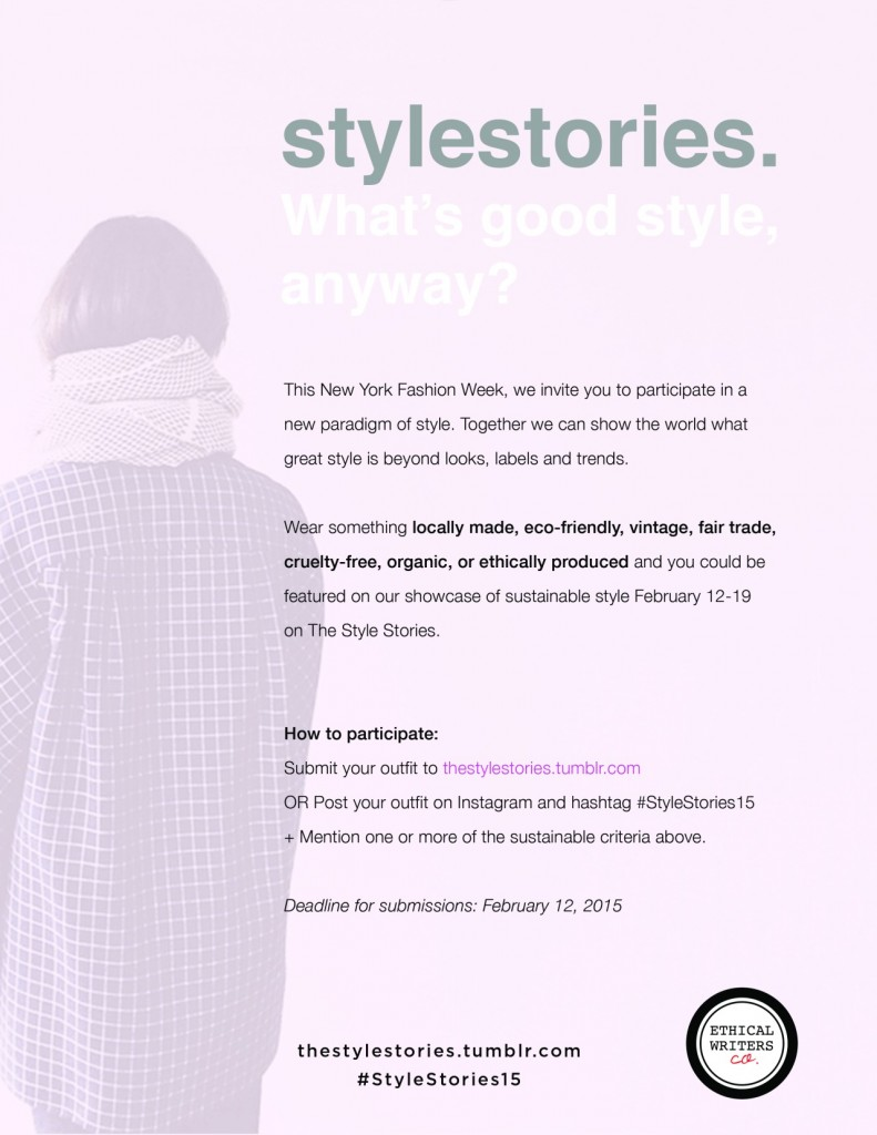 Style Stories information graphic