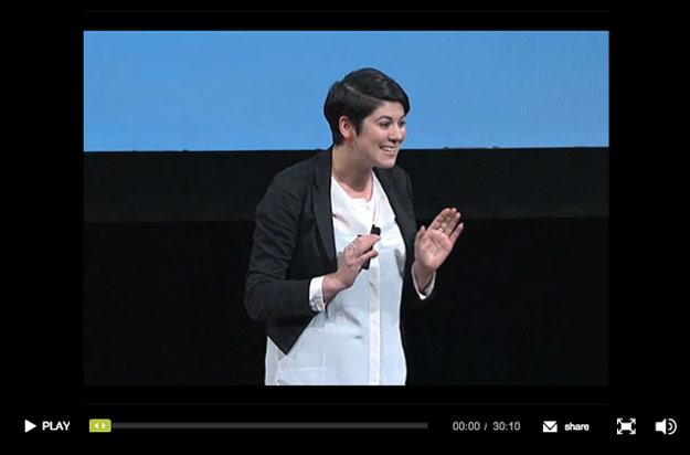 Screenshot of AIGA sustainbility video