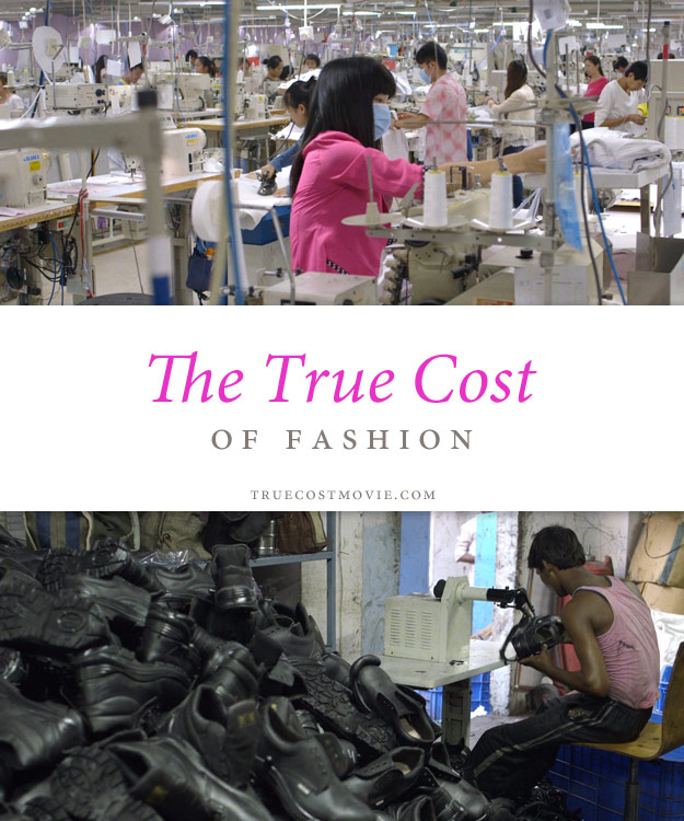 East Asian factory workers, a South Asian shoe sweatshop
