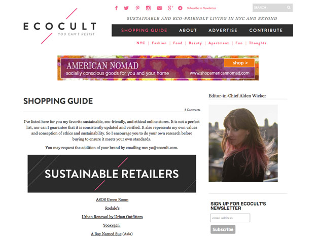 EcoCult screenshot