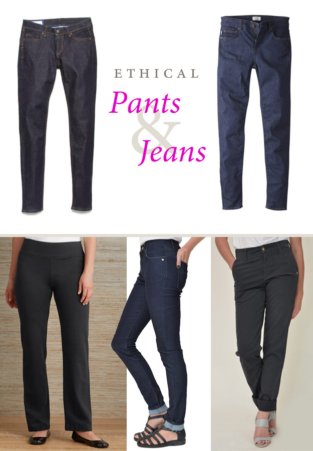 Ethical Pants & Jeans