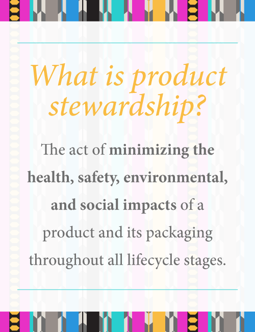 Definition of product stewardship