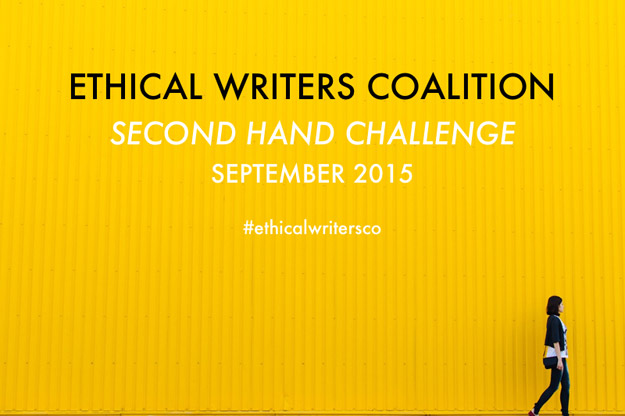 Ethical Writers Coalition Secondhand Challenge