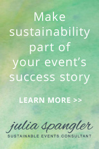 Make sustainability part of your event's success story